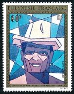 POLYNESIE 1974 - Yv. PA 86 **   Cote= 40,00 EUR - Tableau De M. F. Avril ..Réf.POL23083 - Poste Aérienne