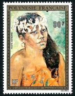 POLYNESIE 1974 - Yv. PA 87 **   Cote= 56,00 EUR - Tableau De H. Robin ..Réf.POL23084 - Poste Aérienne