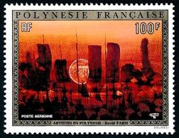 POLYNESIE 1974 - Yv. PA 88 **   Cote= 77,00 EUR - Tableau De D. Farsi ..Réf.POL23085 - Poste Aérienne