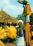 VÖLKERKUNDE / ETHNIC - Cote D´Ivore, Region De MAN, Danseur Echassier - Elfenbeinküste