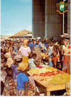 VÖLKERKUNDE / ETHNIC - Cote D´Ivore, Abidjan, Marche De Treicheville - Elfenbeinküste