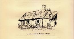 1933 - Illustration De Edmond Spalikowski - Forges-les-Eaux (Seine-maritime) - La Maison De Bréviaire - FRANCO DE PORT - Non Classificati