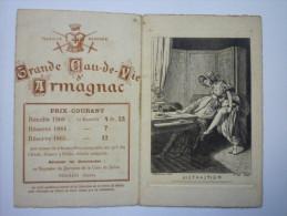 NOGARO  (Gers)  :  Carte  PUB  ARMAGNAC  -  Domaine De La  CROIX  De  SALLES    - Nogaro