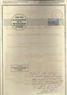 FRANCE --- DOCUMENT PHILATELIQUE 1946-1976 30 E Anniversaire De La Nationalisation De L´Electricité Et Du Gaz - Francia