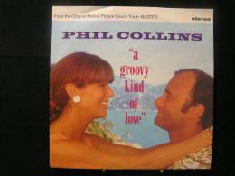 "Vinyles - 45 T / Phil Collins  -  ""A Groovy Kind Of Love "" Gema/Biem - 1988 - Vinylplaten"