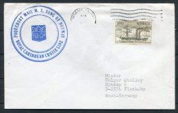 1980 Norway SONG OF NORWAY Ship Cover Paquebot Royal Caribbean Miami Florida - Norway