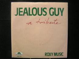 Vinyles - 45 T /  Roxy Music- Jealous Guy / Music,  E.G Records 1981 - Vinyles