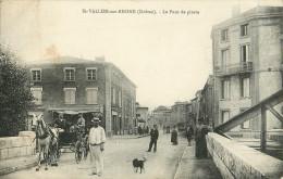 26 - St-Vallier-sur-Rhône - Drôme  - Le Pont De Pierre - Cpa Animée - Voir Scans - Ohne Zuordnung