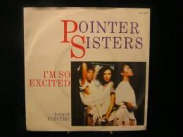 Vinyles - 45 T /  Pointer Sisters - I'M So Excited      / Music, Records Stemra  1982 - Vinylplaten