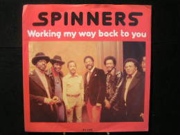 Vinyles - 45 T /  Spinners - Working My Way Back To  You    / Music, RPM  1980 - Vinyles