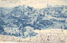 SAARLAND  - GRUSS Aus  SCHWALBACH - Burg Hohenstein (1900) - Andere