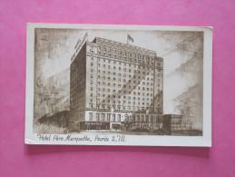 PEORIA ILLINOIS - Hôtel Père Marquette - Peoria