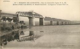 CPA Viaduc De Caronte-Entre Port De Bouc Et Martigues    L2032 - Non Classificati