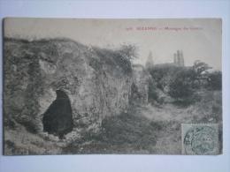 1908 SEZANNE Grottes MARNE Champagne Près Epernay Reims Châlons Vertus Sainte Menehould Montmirail Bazancourt Ay Anglure - Sezanne