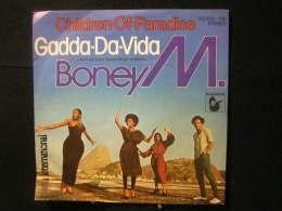 Vinyles - 45 T /  BoneyM -  Children Of Paradise/In A Gadda-da-vida  / Music, Hansa  1980 - Vinylplaten
