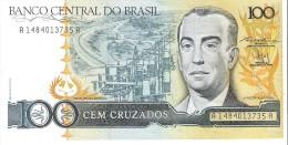 Brazil - Pick 211b - 100 Cruzados 1987 - Unc - Brésil