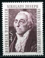 Österreich - Michel 1540 - ** Postfrisch - Nikolaus Joseph Freiherr Von Jacquin - Wert: 0,80 Mi€ - 1945-.... 2ª República