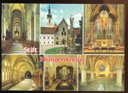 CPM Non écrite Autriche Zisterzienser Abtei HEILIGENKREUZ Multi Vues - Baden Bei Wien