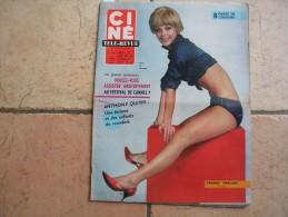 CINE REVUE N° 8 ( FEVRIER -1966 ) FRANCE ANGLADE - BRIGITTE BARDOT / GINGER ROGERS - Dos:  ROCK HUDSON - Kino