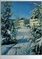 45 K ) 02 - AISNE - ST GOBAIN  - REVUE HIVER 1961 - - Picardie - Nord-Pas-de-Calais