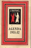Agenda St Raphael Quinquina Exposition Coloniale 1931 32  23 Pages Draeger Imp Metropolitain Autobus Bateaux - Petit Format : 1921-40