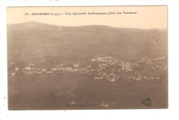 CPA 88 GRANGES Vue Générale Du Poutreau Pris Des Beaumes - Granges Sur Vologne