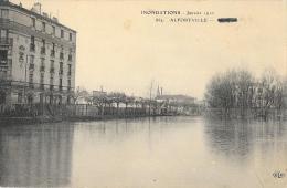 Inondations Janvier 1910 - Alfortville - Les Quais - Carte E.L.D. N°862 Non Circulée - Inondations