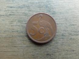 Afrique Du Sud  5 Cents  1999  Km 160 - Sudáfrica