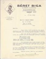 64 . PYRENEES ATLANTIQUES . OLORON . 1942.  BERET BIGA - 1900 – 1949
