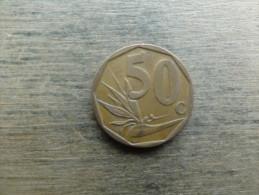 Afrique Du Sud  50 Cents  2007  Km 343 - Afrique Du Sud