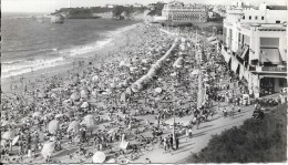 BIARRITZ - 64 -      - La Grande Plage - TRES ANIMEE  - ENCH1202 - - Biarritz