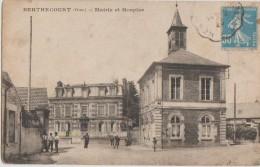 CPA 60 BERTHECOURT Mairie Et Hospice - Francia