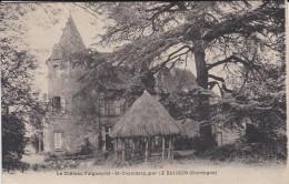 24----le Château FALGUEYRAT-ST-CHAMASSY--par LE BUISSON---voir 2 Scans - Autres Communes