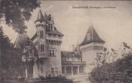 24----CHAMPAGNE---le Château ---voir 2 Scans - France