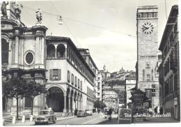 BERGAMO  VIA  ANTONIO LOCATELLI VIAGGIATA FG S/FRANCOBOLLO - Bergamo