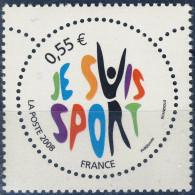 4283  Je Suis Sport   Neuf **   ANNEE 2008 - France