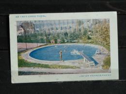 F01 - Publicité Piscines Ondine . Malmedy - Belgique - Werbepostkarten