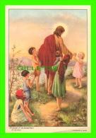 IMAGES RELIGIEUSES - SINITE PARVULOS - CONVENT OF THE SACRED-HEART OF ILLINOIS - ALPHONSE BERNIER, JOLIETTE, QUÉBEC - - Images Religieuses