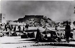 GUERRE 39 - 45 MILITARIA DU TCHAD A TUNIS  CAMPAGNE DU FEZZAN  R'AT EMPLACEMENT DE COMBAT - Weltkrieg 1939-45