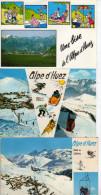 L'Alpe D'HUEZ Un Lot De 12 Cartes édition André(scan Recto Et Verso) - Non Classificati