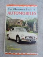 The Observer's Book Of AUTOMOBILES.1968 - Livres, BD, Revues