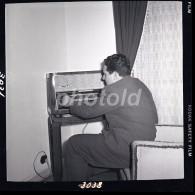 1959  60mm ORIGINAL NEGATIVE RADIO DAYS PORTUGAL NOT PHOTO NEGATIVO NO FOTO - Photography