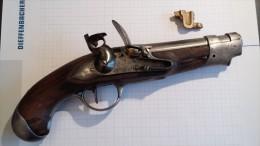Pistolet An 9 De Gendarmerie - Armes Neutralisées