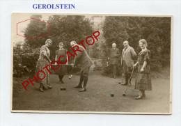CRICKET-Gerolstein-Allemagne-1924-SPORT-Divertissement-Carte Photo- - Cricket