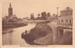 BLATON - EGLISE, EMBOUCHURE Du CANAL D'ATH. / Edit. F. Assoignons - Bernissart
