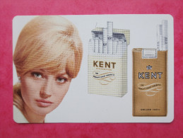 """Calendrier Publicitaire Cigarettes KENT """" 1969 - Petit Format : 1961-70"""