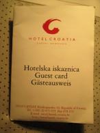 Hotel Croatia Cavtat Croatia Hotel Key Card - Hotel Keycards