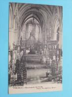 Binnenzicht Der Kerk MELSELE ( L. Van Den Camp ) Anno 1909 ( Zie Foto Details ) !! - Beveren-Waas