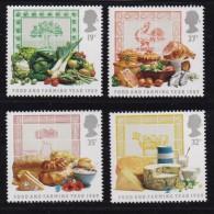 UK, 1989, Mint Never Hinged Stamps , Food & Farming, 1194-1197 , #1036 - 1952-.... (Elizabeth II)
