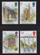 UK, 1989, Mint Never Hinged Stamps , Industrial Archaeology, 1206-1209, #1048 - 1952-.... (Elizabeth II)